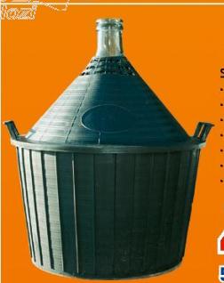 Stakleni balon 54l