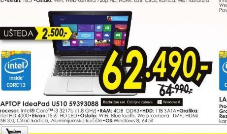 Laptop IdeaPad U510 59393088
