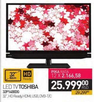 """Televizor LED 32"""" 32p1400dg"""