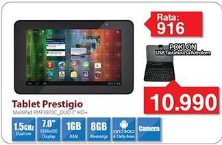 Tablet Pmp3870c + Poklon USB tastatura sa futrolom