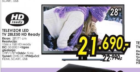 Televizor LED TV 28LE50