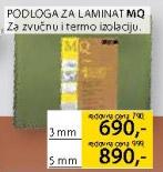 Podloga za laminat Mq 3mm