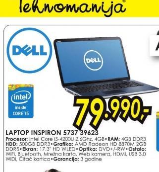 Laptop Inspiron 17 3737 39623