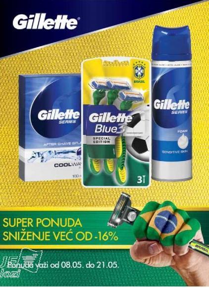 Gillette Super ponuda