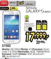 Mobilni telefon S7582 Galaxy S Duos 2