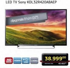 "Televizor LED 32"" KDL32R420ABAEP"