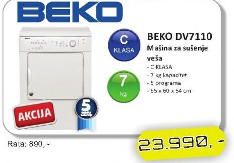 Mašina za veš DV7110