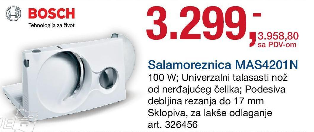 Salamoreznica MAS 4201N