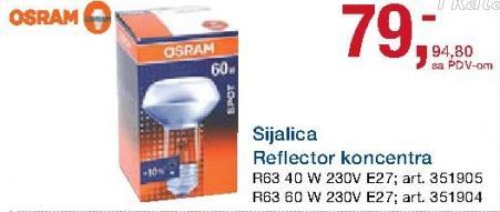 Sijalica Reflector koncertna R63 E27