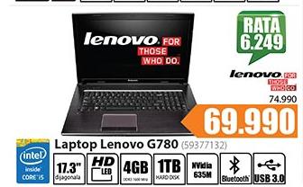 Laptop G780 (59377132)