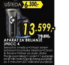 Aparat za brijanje 390 CC 4