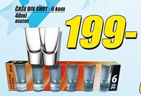 Čaša div shot