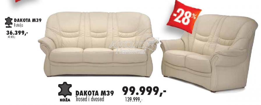 Fotelja Dakota M39