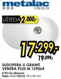 Sudopera X Granit Venera Plus M 129064