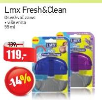 WC osveživač Fresh&Clean