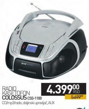 Radio kasetofon CSS-1100
