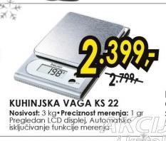 Kuhinjska Vaga KS 22