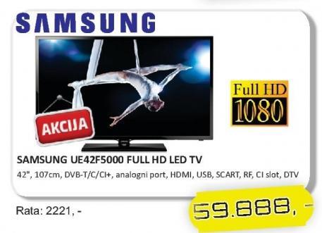 "Televizor LED 42"" UE42F5000"