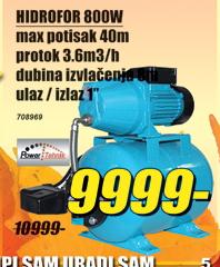 Hidrofor 800W