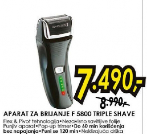Aparat za brijanje F 5800 TRIPLE SHAVE