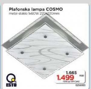 Plafonska lampa Cosmo