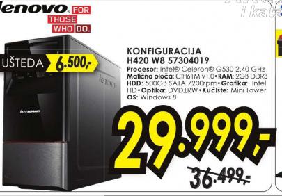 Desktop računar Konfiguracija H420 W8 57304019