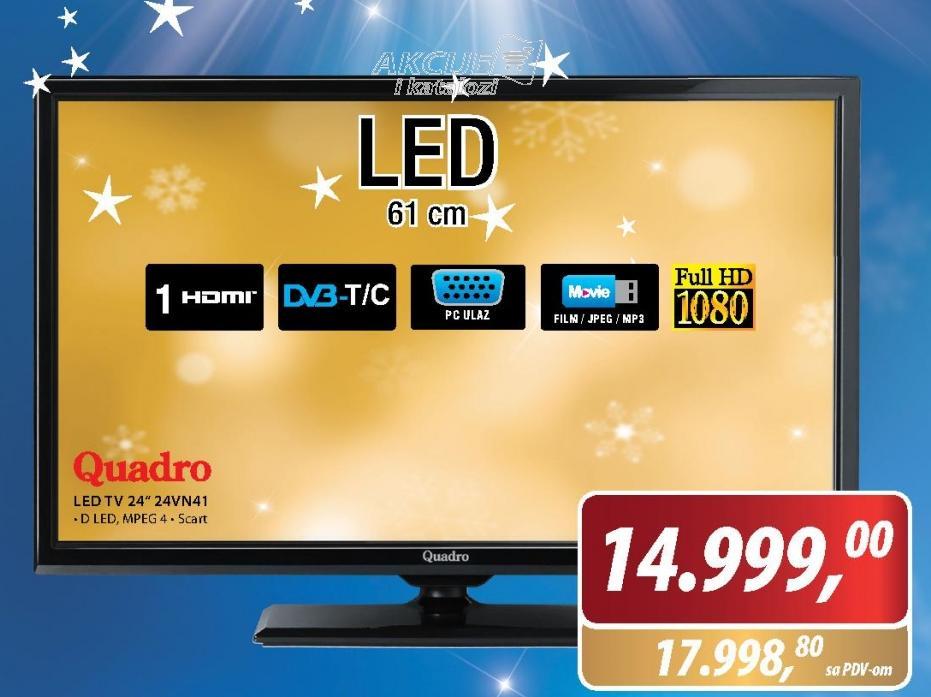 TELEVIZOR LED-24VN41