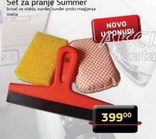 Set za pranje Summer