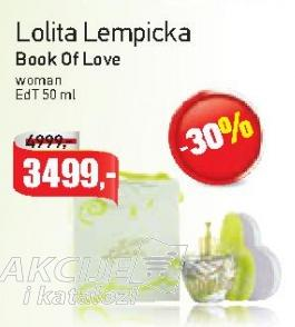 Toaletna voda Book of love