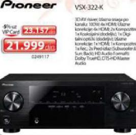 3D AV RISIVER VSX - 322K