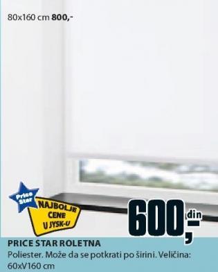 Zavesa Price Star