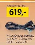 Priključni kabl Commel