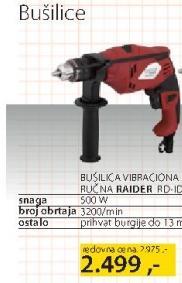 Vibraciona Bušilica Raider RD ID04