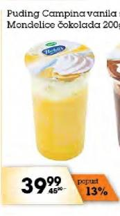 Puding vanila sa šlagom