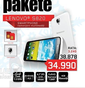 Mobilni telefon S820