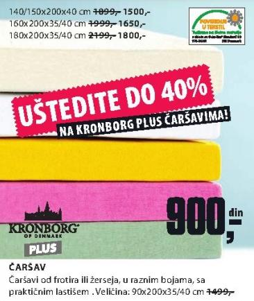 Čaršav 140/150x200x40