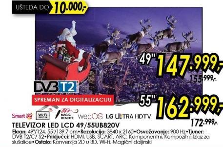 """Televizor LED 49"""" 49ub820v"""