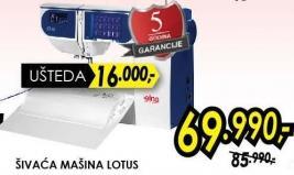 Šivaća mašina Lotus
