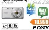 Digitalni Aparat SONY Dsc W710 +Poklon SD kartica 8GB
