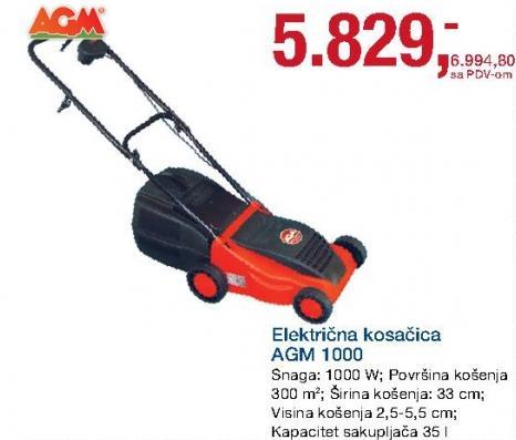 Električna kosačica 1000
