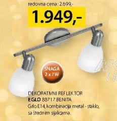 Dekorativni reflektor 88717 Benita