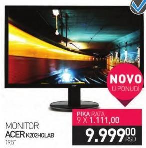 "Monitor LED 19.5"" K202HQLAB"