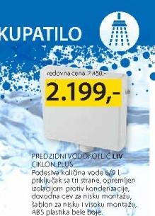 Vodokotlić Liv Ciklon Plus