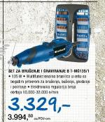 Set za graviranje i brušenje BT-MG 135/1