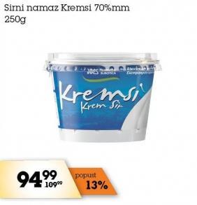 Sirni namaz 70% mm