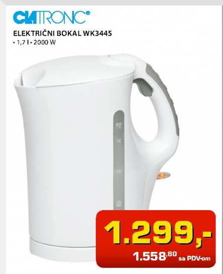 Električni bokal WK 3445 B