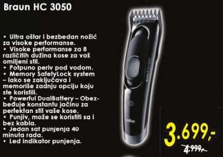 Trimer za kosu i bradu HC 3050