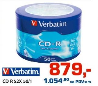 CD R 52x 50/1