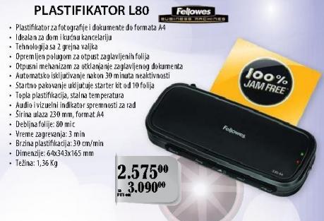 Plastifikator L80