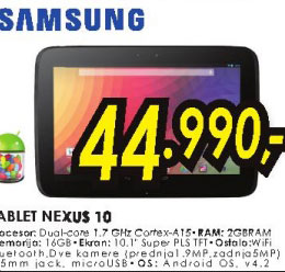 Tablet Nexus 10